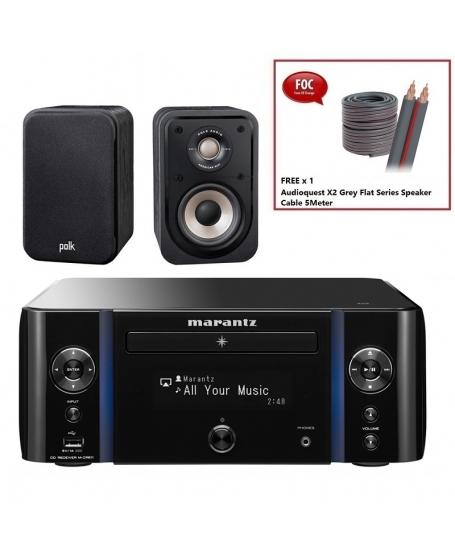 Marantz M-CR611 + Polk S10e Hi-Fi System Package