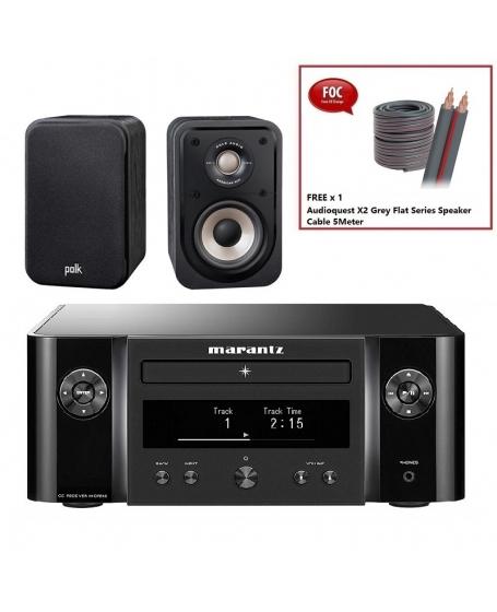 Marantz M-CR612 + Polk S10e Hi-Fi System Package