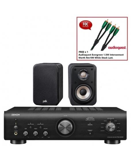 Denon PMA-600NE + Polk S10e Hi-Fi System Package