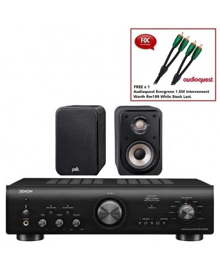Denon PMA-800NE + Polk S10e Hi-Fi System Package