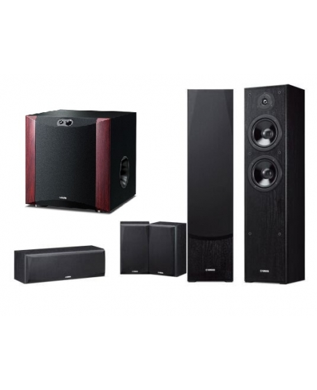 Yamaha NS-51 + NS-SW300 5.1 Speaker Package