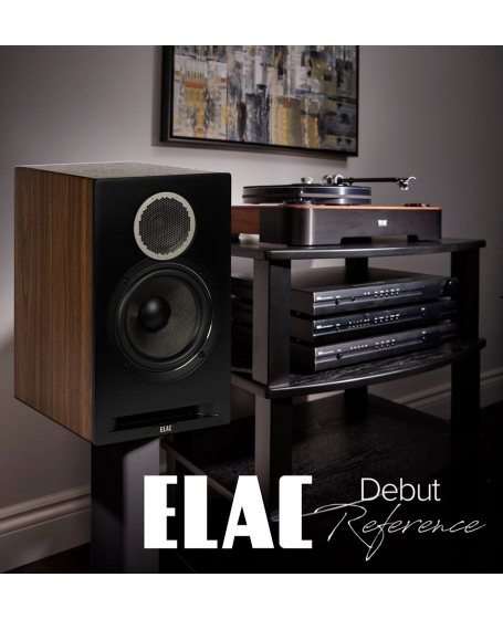 ELAC Debut Reference DBR62 Bookshelf Speaker