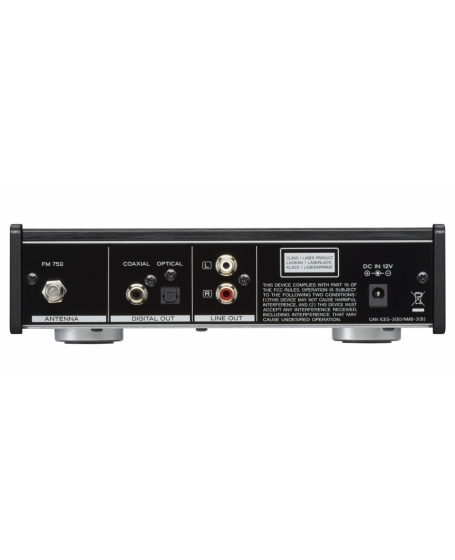 TEAC PD-301-X CD Player/FM Tuner With USB