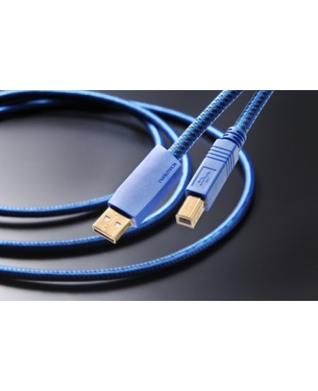 Furutech GT2 USB Cable USB 2.0 Cables USB-B (Type A-B) 1.2M