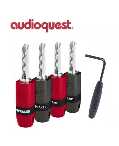 Audioquest SureGrip 300 BFA/Banana Silver (4 pcs per box)