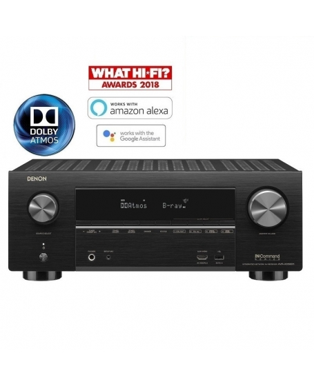 Denon AVR-X3500H 7.2Ch Atmos Network Av Receiver (Opened Box New)