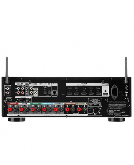Denon AVR-X1600H 7.2Ch 4K Ultra HD AV Receiver (DU)
