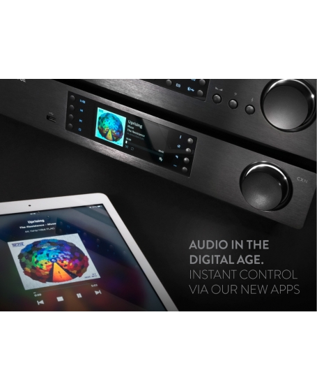 Cambridge Audio CXN (V2) Series 1 Network Music Player/Streamer With WiFi Dongle
