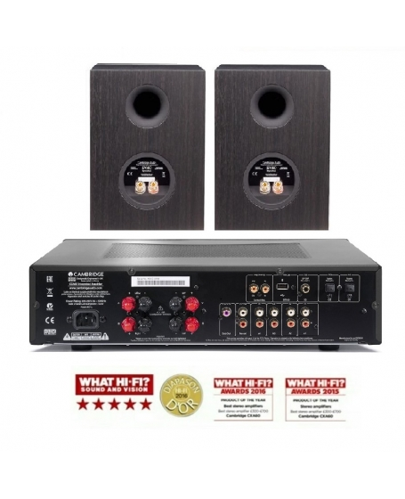 Cambridge Audio CXA60 + SX50 Hi-Fi System Package