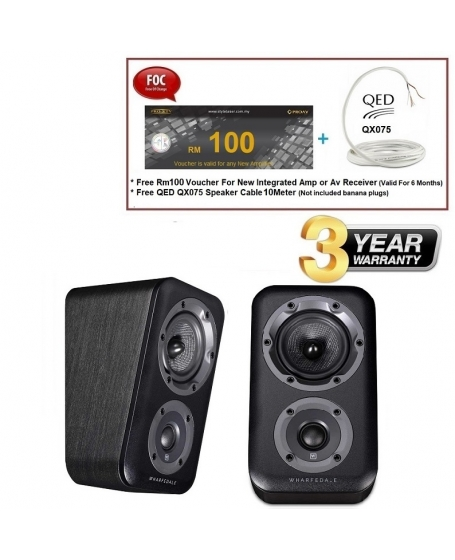 Wharfedale D300 3D Dolby Atmos Elevation/Surround Speakers