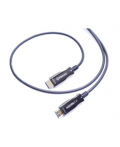Pro Av Fiber Optic 4K HDMI Cable 3Meter