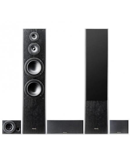 Pioneer S-ES3TB 5.0 Speaker Package (Opened Box New)
