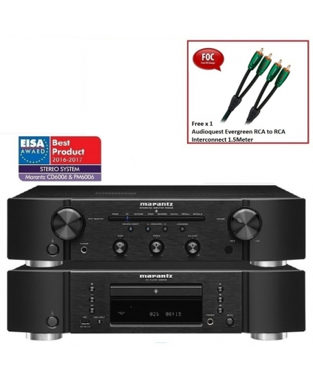 Marantz CD6006 CD Player & PM6006 Integrated Amplifier