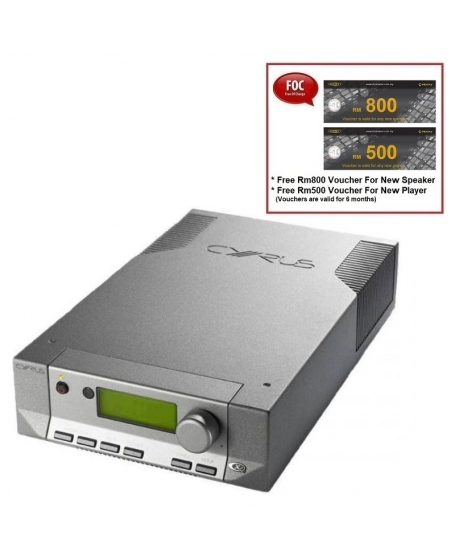 Cyrus 8 QX DAC Integrated Amplifier Made In England