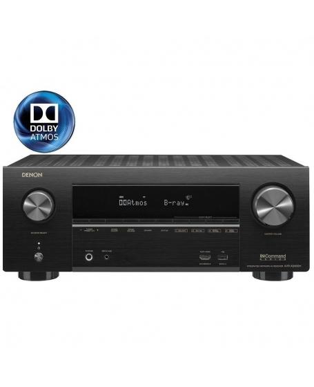 Denon AVR-X2600H 7.2Ch 4K Ultra HD AV Receiver ( DU )
