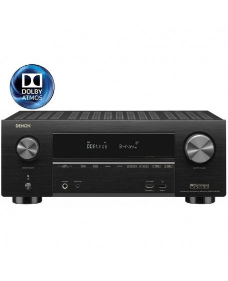 Denon AVR-X3600H 9.2 Ch 4K Ultra HD AV Receiver (Opened Box New)