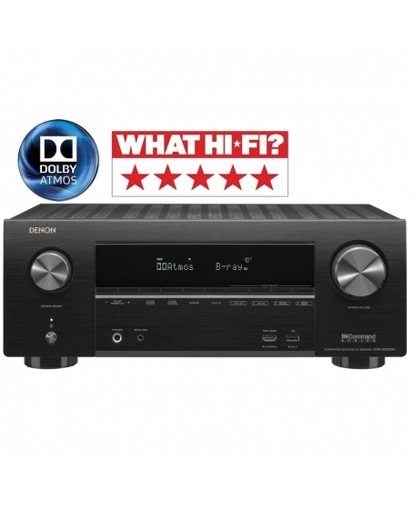 ( Z ) Denon AVR-X2500H 7.2Ch Atmos Network Av Receiver ( PL ) - Sold Out 04/08/20