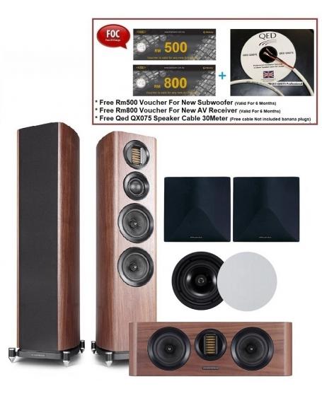 Wharfedale EVO 4.3 Speaker Package