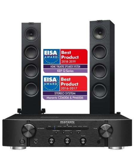 Marantz PM6006 + Kef Q550 Hi-Fi System Package