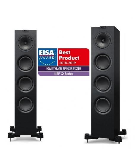 Yamaha R-N803 + KEF Q550 Hi-Fi System Package