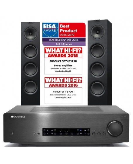 Cambridge Audio CXA60 + KEF Q550 Hi-Fi System Package