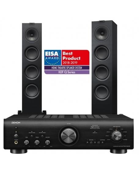 Denon PMA-800NE + Kef Q550 Hi-Fi System Package