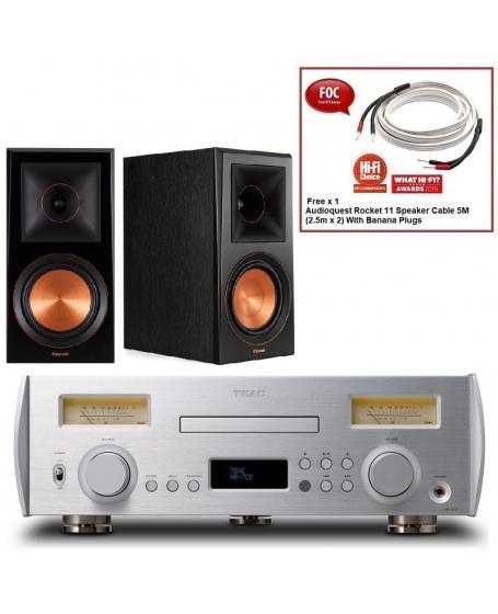 Teac NR-7CD + Klipsch RP-600M Hi-Fi System Package