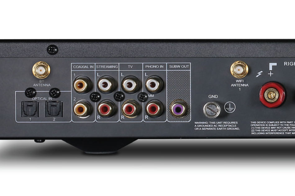 NAD C 338 integrated amplifier with dac wifi bt