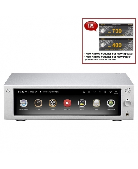 Hifi ROSE RS201E HiFi Network Media Player Made In Korea