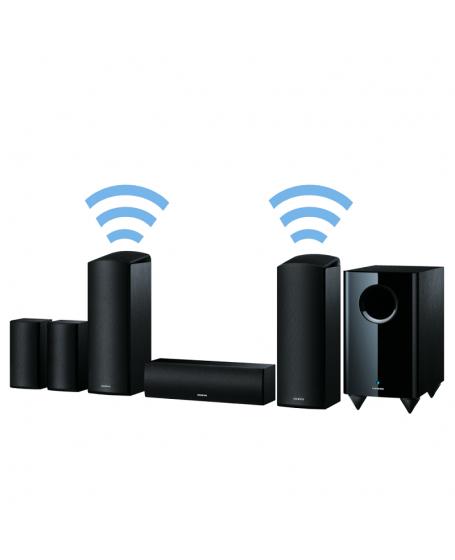 Onkyo SKS-HT588 5.1.2-Ch Satellite Speaker Package