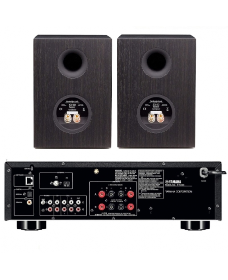 Yamaha R-N303 + Cambridge Audio SX-50 Hi-Fi System Package