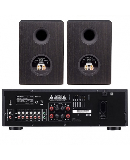 Sherwood AX-5505 + Cambridge Audio SX-50 Hi-Fi System Package