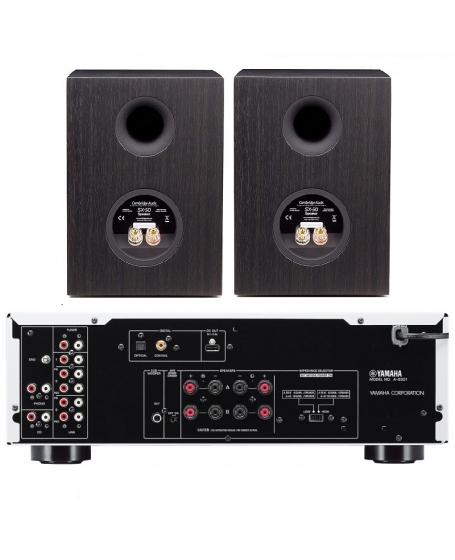 Yamaha A-S301 + Cambridge Audio SX-50 Hi-Fi System Package