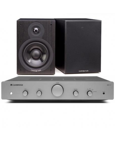 Cambridge Audio AXA25 + Cambridge Audio SX-50 Hi-Fi System Package