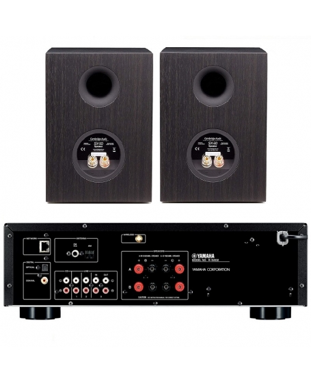 Yamaha R-N402 + Cambridge Audio SX-50 Hi-Fi System Package