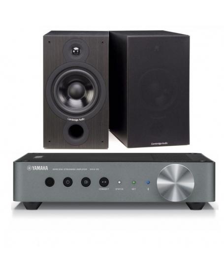 Yamaha WXA-50 + Cambridge Audio SX-60 Hi-Fi System Package