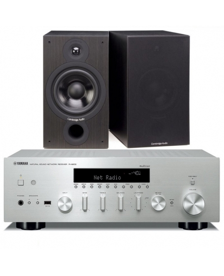 Yamaha R-N602  + Cambridge Audio SX-60 Hi-Fi System Package