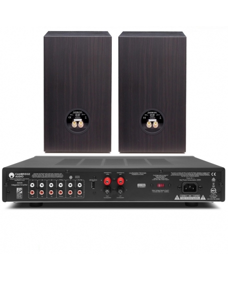 Cambridge Audio AXA35 + Cambridge Audio SX-60 Hi-Fi System Package