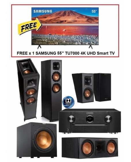 Marantz SR6014  + Klipsch 5.1.2 Dolby Atmos Home Theatre Package