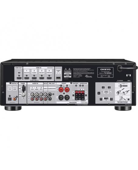 (Z)Onkyo TX-SR3935.2Ch Atmos AV Receiver (Opened Box New) sold 1/9/2020