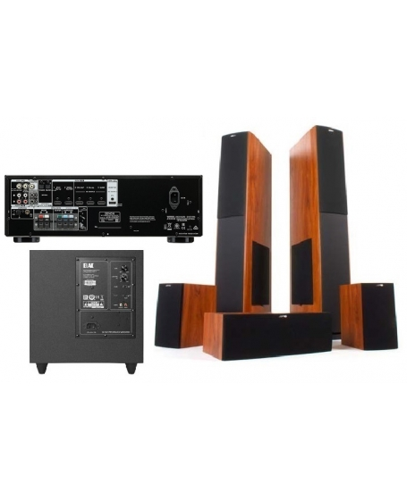 Denon AVR-X550BT+Jamo S626HCS+ELAC Debut 2.0 S8.2 Home Theatre Package