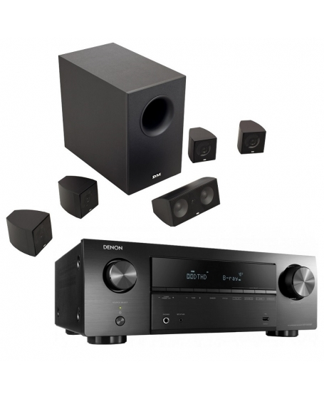 Denon AVR-X550BT  + DM Dream Series X1 Home Theatre Package
