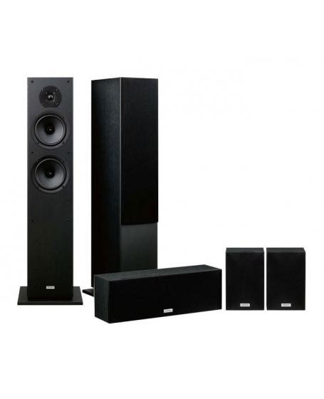 Denon AVR-X550BT + Onkyo SK4800 Series 5.1Ch Home Theatre Package