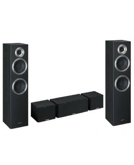Pioneer S-ES21-LR-K 5.0 Speaker Package (Opened Box New)