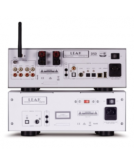 Leak Stereo 130 Integrated Amplifier + Leak CDT CD Player