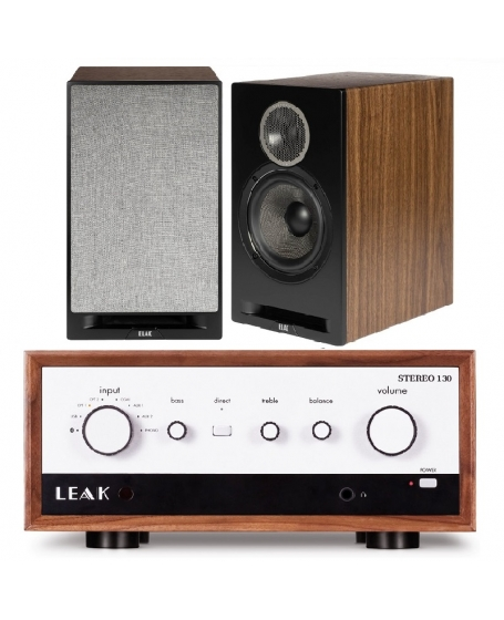 Leak Stereo 130 + ELAC Debut Reference DBR62 Hi-Fi System Package