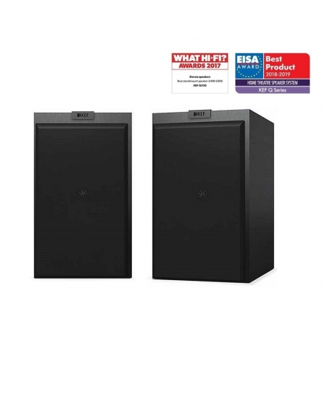 ( Z ) KEF Q350 Bookshelf Speaker With Grille ( PL ) - Sold Out 25/09/20
