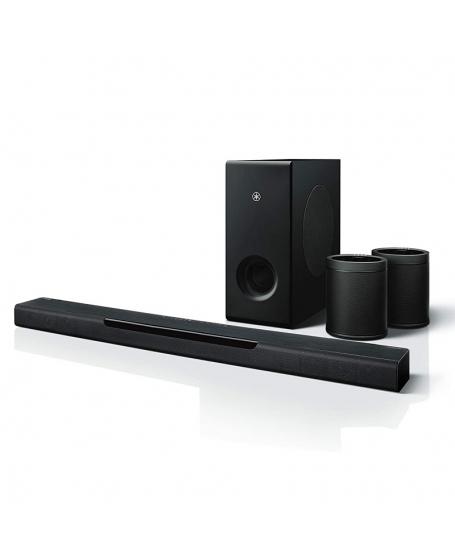 Yamaha MusicCast BAR 400(YAS-408) + 2pcs WX-021 Speaker Package