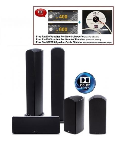 Pioneer S-73A Hi End 9 Channel Atmos Speaker Package