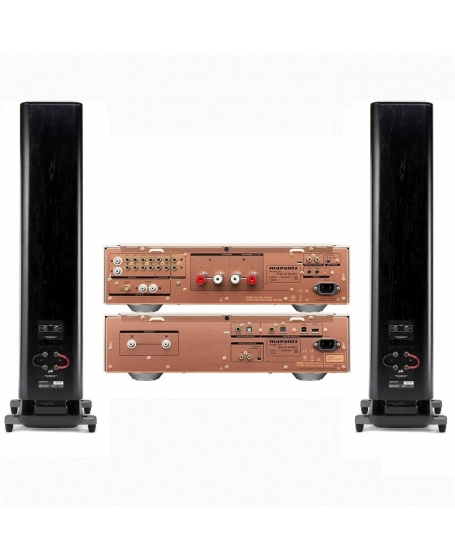 Marantz PM & SA KI Ruby + Polkaudio Legend L600 Hi-Fi System Package (Gold)